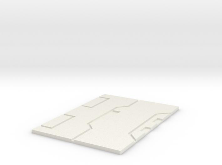 Starwars TFA resistance Pilot Plate 3d printed