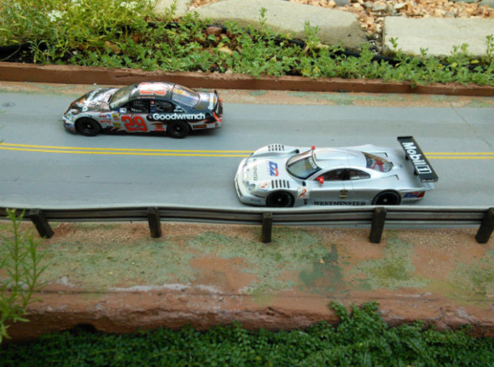 CK2 Chassis Kit for 1/32 Scale Large MagRacing Car 3d printed Chassis Kit CK2 fits most NASCAR bodies.