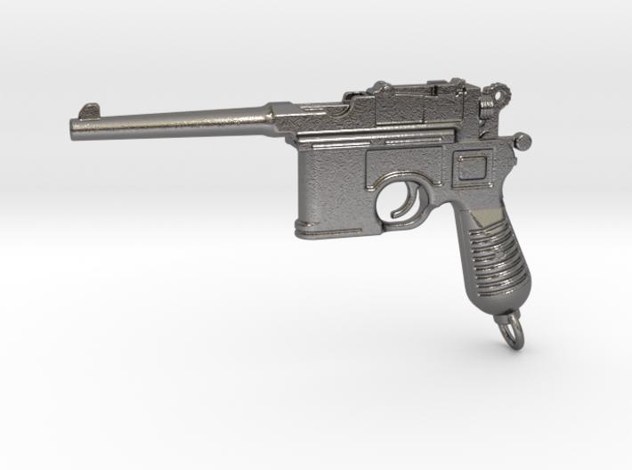 Mauser C96 Gun Paperweight 3d printed