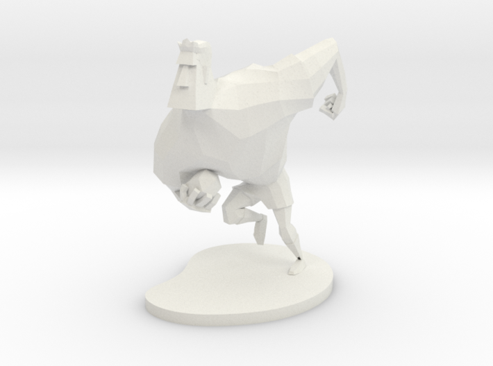 Rugby Player 3d printed
