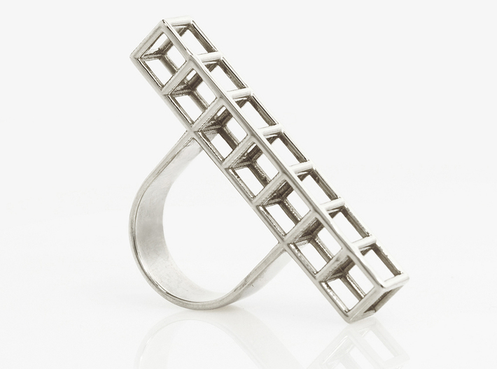 STRUCTURE Nº 1 RING 3d printed