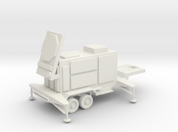 1/144 Scale Patriot Missile Radar Trailer 3d printed