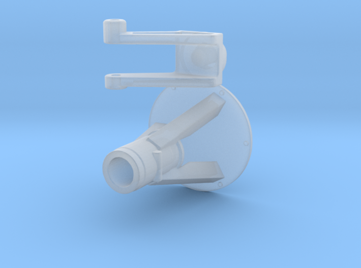 M4 Mount and swivel 1/24 3d printed