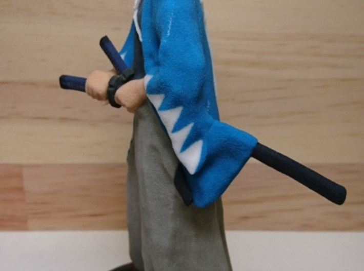 "Japanese last samurai group ""Shinsengumi"" miniture 3d printed"