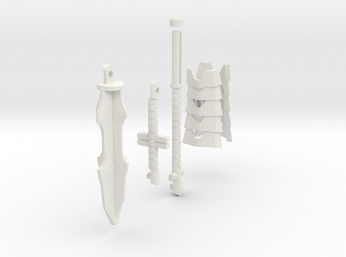 TF4: AOE Warrior Of Liberty kit (tail v2.1) 3d printed