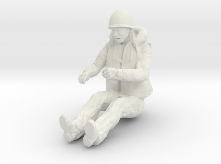 1-16 USN Sailor Lifevest Bofors Gunner 2 3d printed