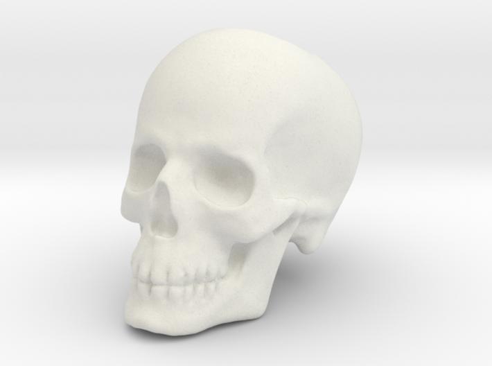 Skull Bead 3d printed