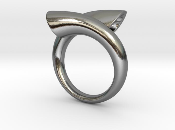 Ring biconico acuto 3d printed