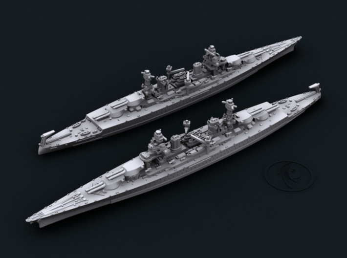 USN CC1 Lexington [1935] 3d printed Computer software render