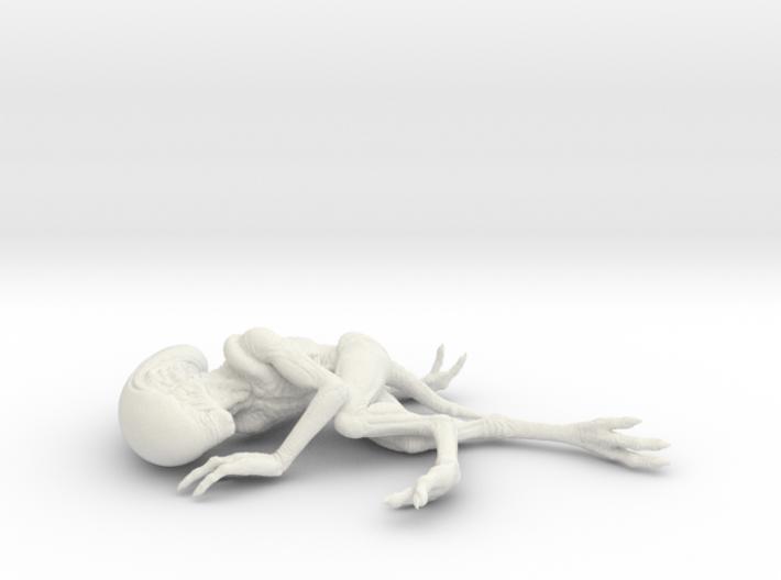 Alien Baby (5,5cm) 3d printed