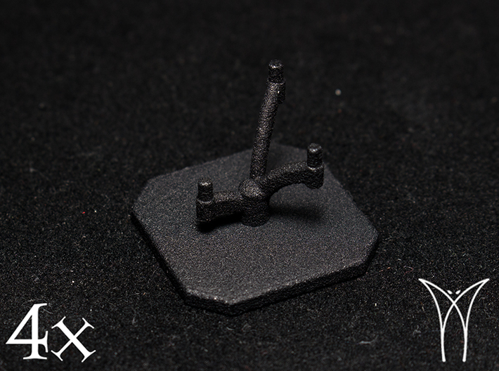 4 Squadron Bases 3d printed