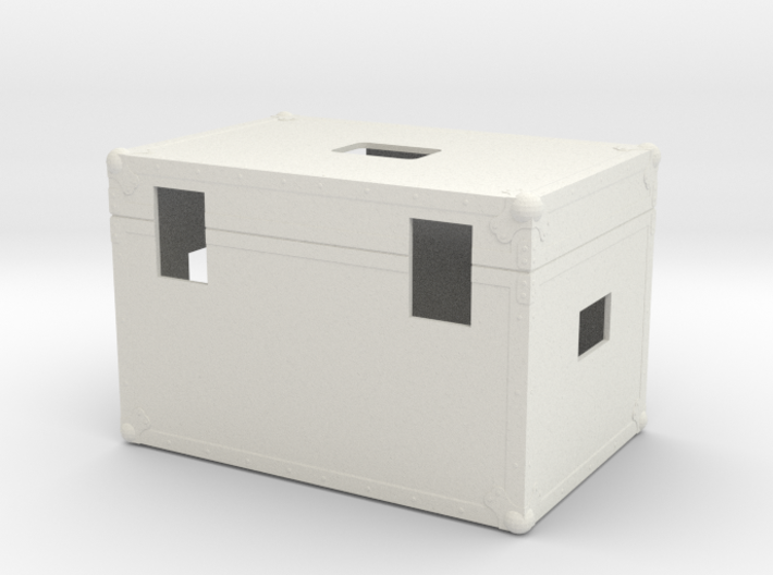 Scale 1/6 Back to the future Plutonium Box 3d printed