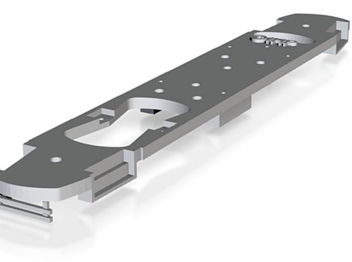 HO Frame for DE MUNI Torpedo PCC 3d printed