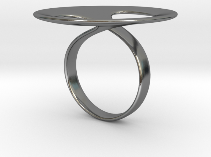 Ring tondo 3d printed