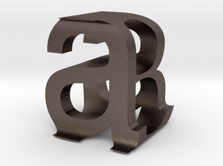 aB Helv 3d printed