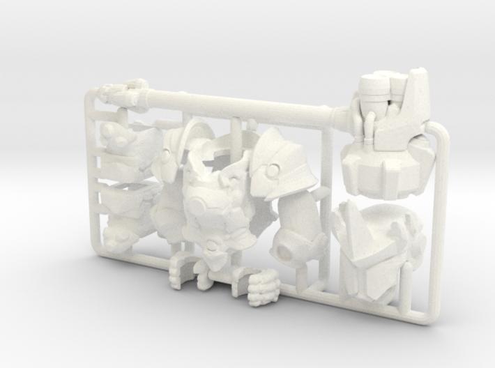 Custom Reinhardt Inspired Lego 3d printed