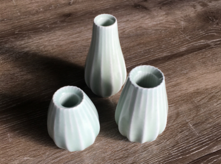 Elegant Vase - Part 3 3d printed Full Set