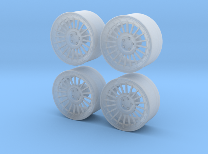 "Rotiform Ind 19"" 1/24 Pack With Fujimi spindle 3d printed"