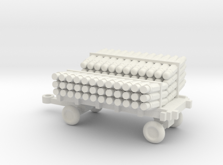 1/72 Scale SonoBouy Cart Loaded 3d printed