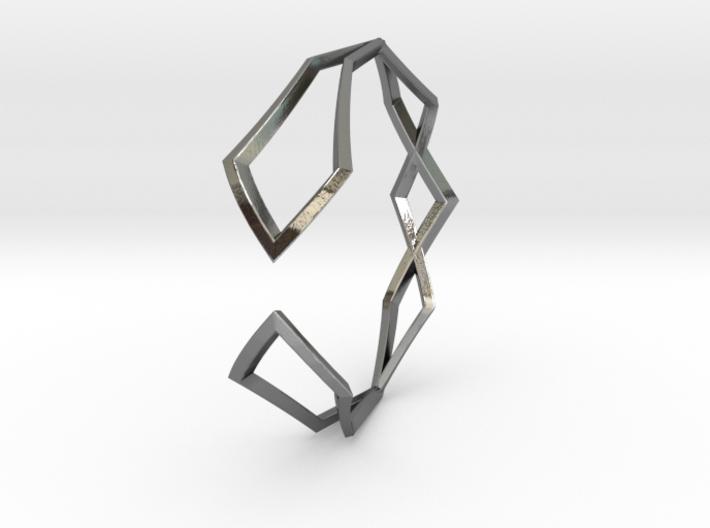 HIDDEN HEART Sharp M, Bracelet 3d printed