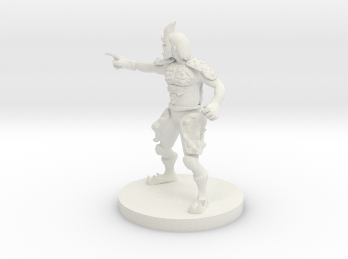 Sacred Stone Monk 3d printed