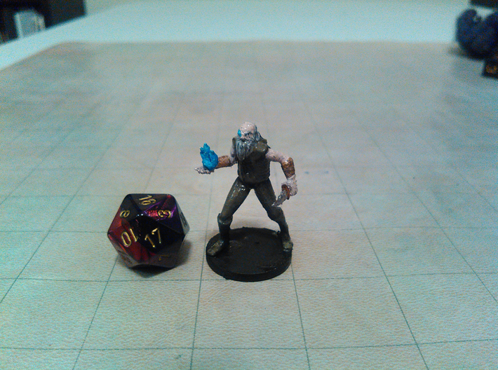 One Eyed Shiver 3d printed
