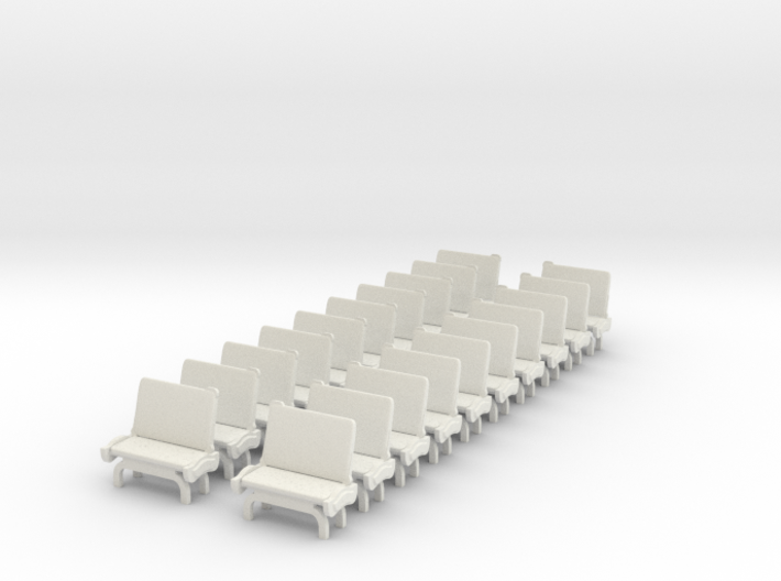 TARS Brill O scale - SEATS 3d printed