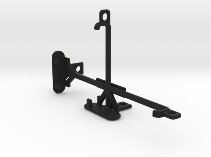 BLU Studio C 8+8 tripod & stabilizer mount 3d printed
