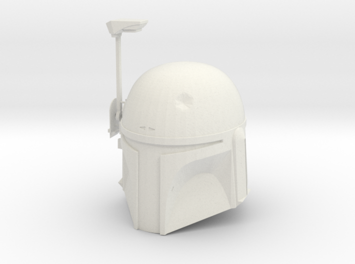 Boba Fett ESB Helmet 1/4th Scale With Visor 3d printed