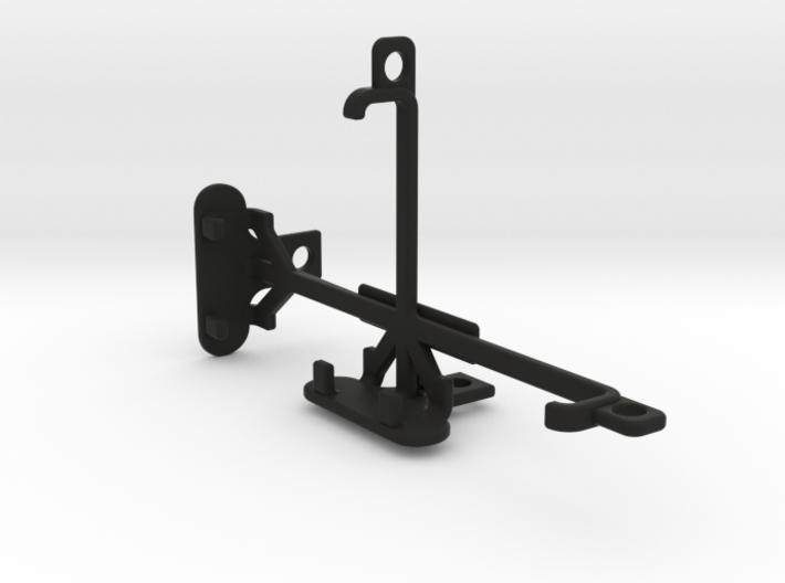 Lava Iris 401 tripod & stabilizer mount 3d printed
