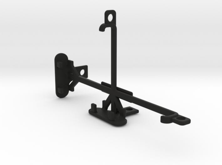 Lava X3 tripod & stabilizer mount 3d printed