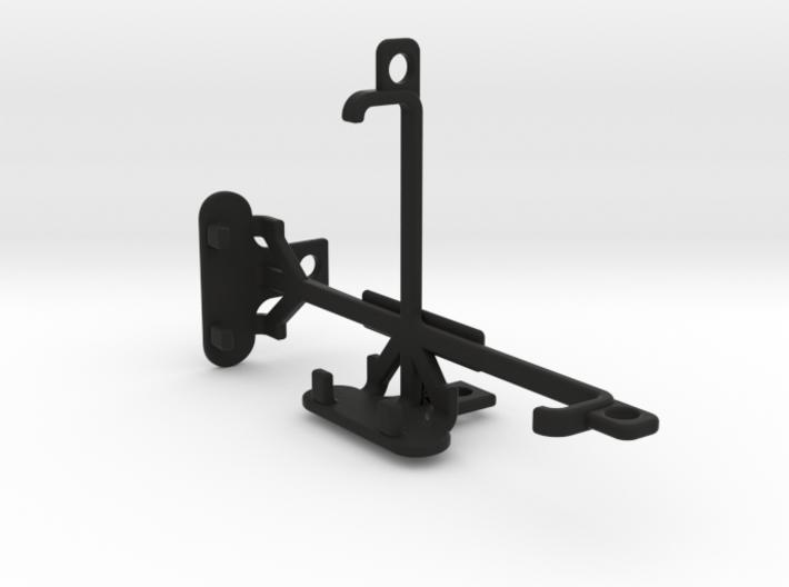 Microsoft Lumia 532 tripod & stabilizer mount 3d printed