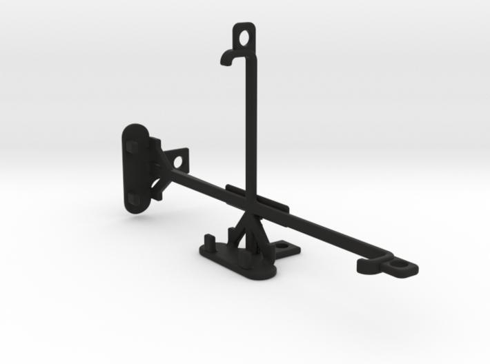 Microsoft Lumia 640 XL LTE Dual SIM tripod mount 3d printed