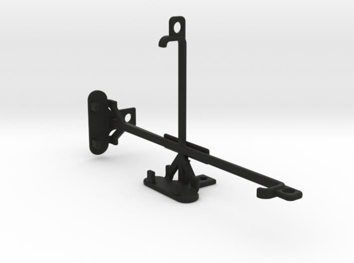 Motorola Nexus 6 tripod & stabilizer mount 3d printed
