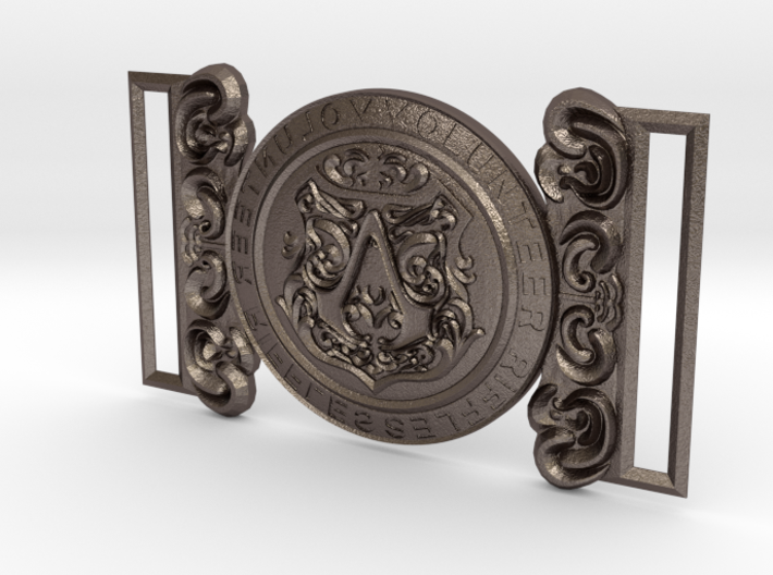Evie Frye Belt Buckle 3d printed