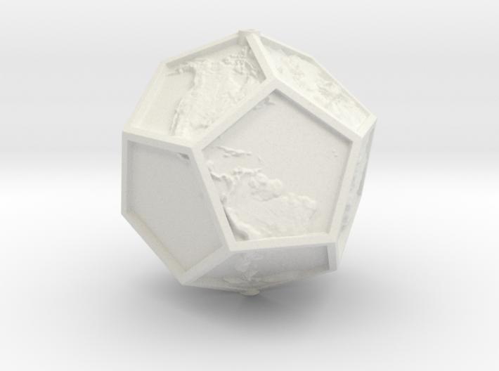 Platonic Earth Tilt 12 3d printed