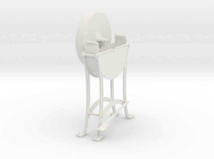 1:13.7 Blacksmith Grinding Wheel 3d printed