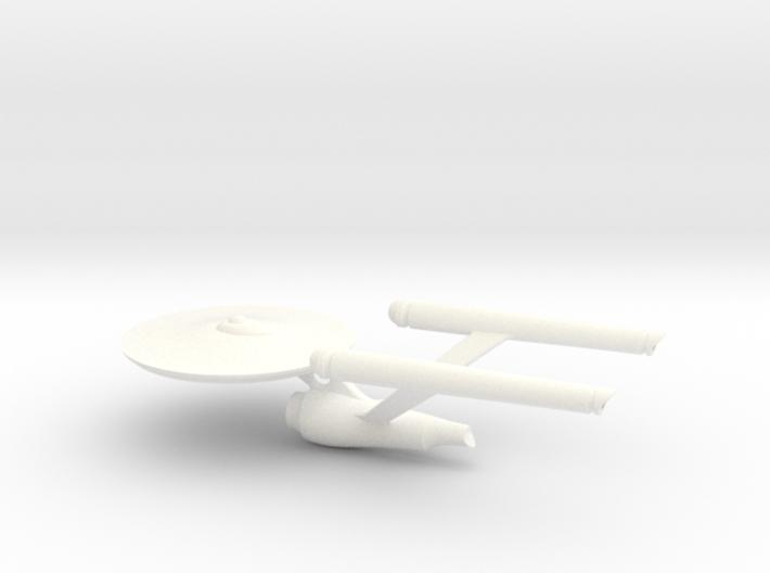 Starship Enterprise (pendant) 3d printed