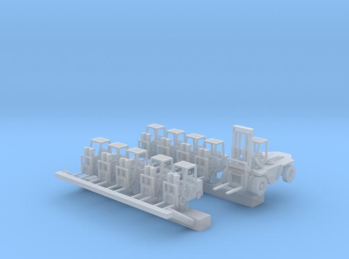 1:200 Scale CVN Forklift Set #1 3d printed
