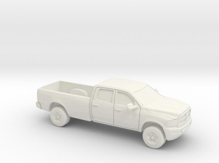 1/64 2013 Dodge Ram Crew Long Bed 3d printed