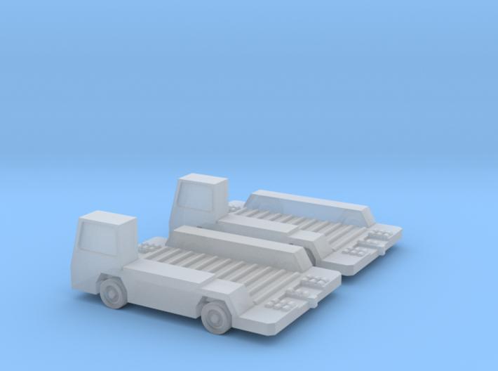 1:200 2x Mulag Pulsar 7 CP Transporter 3d printed
