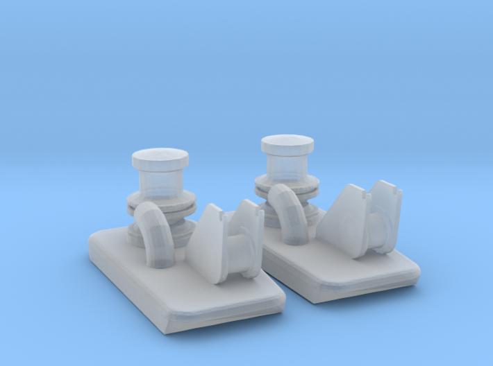 Capstan Set 2 Items 3d printed