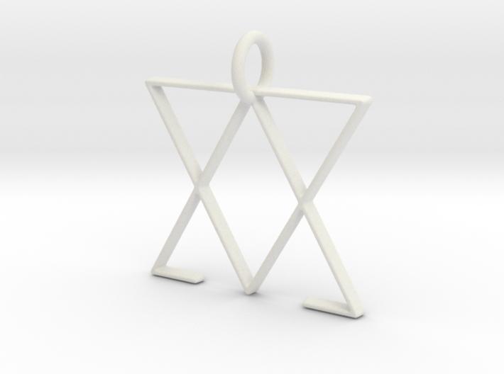 Team Arsenic Pendant 3d printed