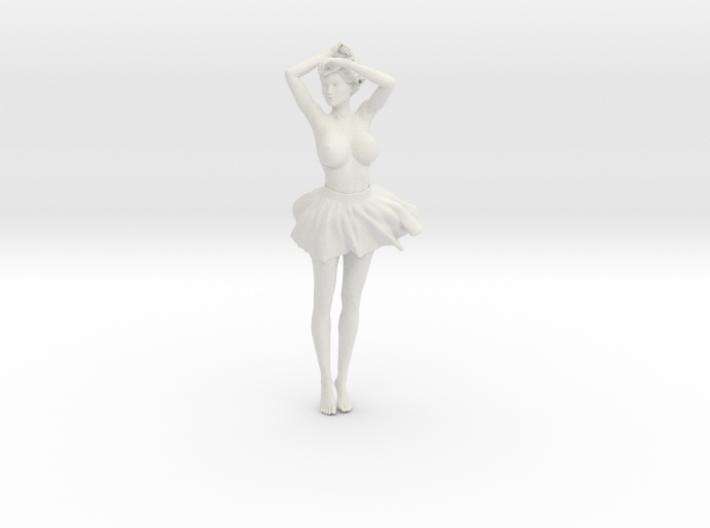 Miniskirt Girl 002-1/10 3d printed