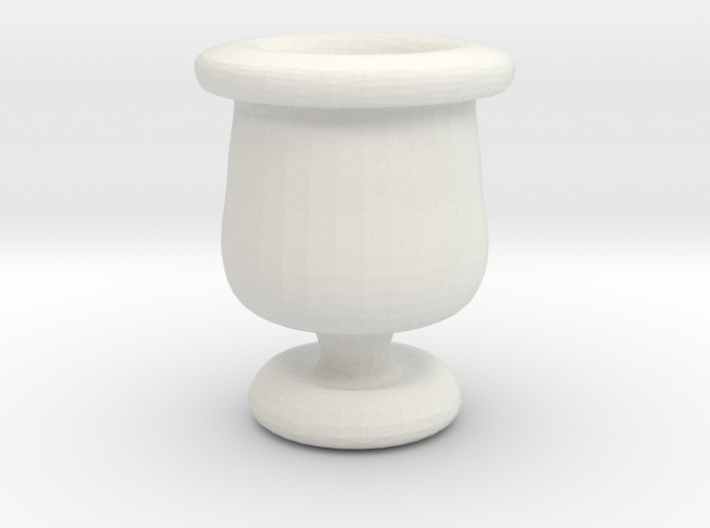 Mini Apothecary Pot - style 2 3d printed