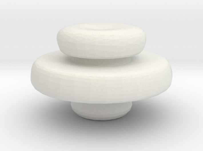 Mini Apothecary Pot Lid 3d printed
