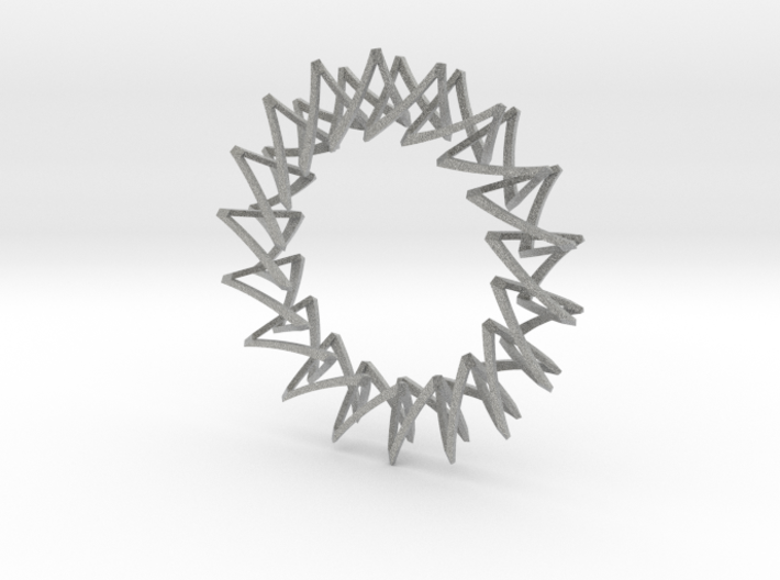 Necklace Escher 3d printed Necklace Escher