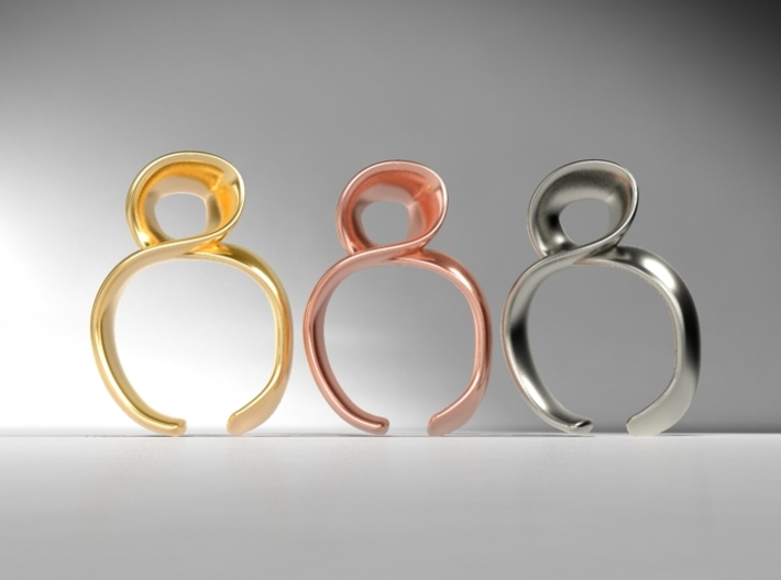 Noodle ring 3d printed