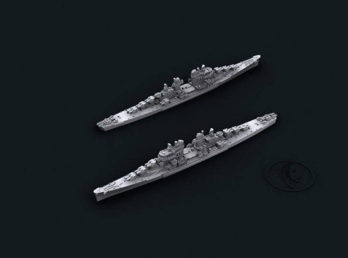 USN CL53 San Diego [1944] 3d printed Computer software render