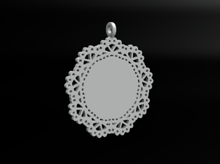 Design for pendant/earring - SK0030A 3d printed Plastic preview